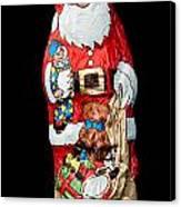 Chocolate Santa Claus Canvas Print
