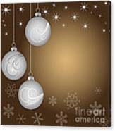 Christmas Background Canvas Print