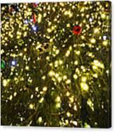 Christmas Tree Ornaments Faneuil Hall Tree Boston Canvas Print