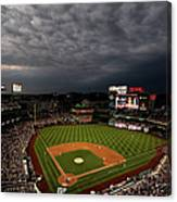 Cincinnati Reds V Washington Nationals Canvas Print