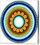 Circle Motif 214 Canvas Print