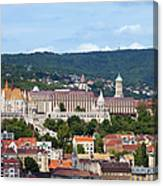 City Of Budapest Canvas Print