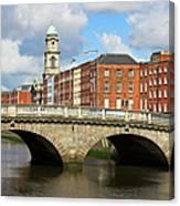 City Of Dublin Canvas Print