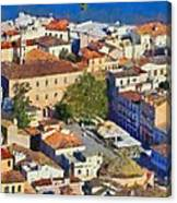 City Of Nafplio Canvas Print