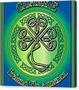 Clarke Ireland To America Canvas Print
