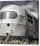 Classic Airstream Caravan Canvas Print
