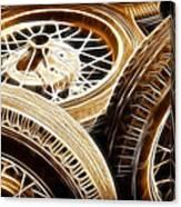 Classic Wheels Canvas Print