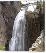 Clear Creek Falls Canvas Print