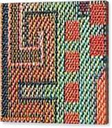 Cloth Pattern Canvas Print