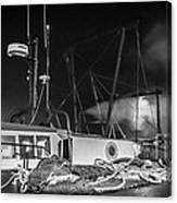 Cockenzie Harbour Canvas Print