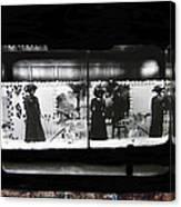Collage Steinfeld's Department Store Window 1908 Tucson Arizona 2008 Canvas Print