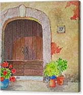Color Me Tuscany Canvas Print