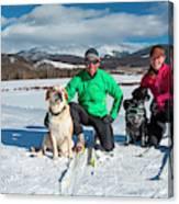 Colorado Cross Country Skiing Canvas Print