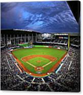 Colorado Rockies V Miami Marlins Canvas Print