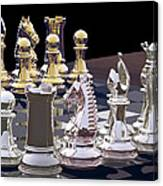 Competition - Chess Canvas Print