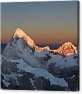 Cordillera Blanca Canvas Print