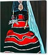 Cordillera Bride Canvas Print
