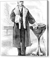Cornelius Vanderbilt (1794-1877) Canvas Print