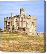 Cornwall - Pendennis Castle Canvas Print