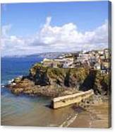 Cornwall - Port Isaac Canvas Print