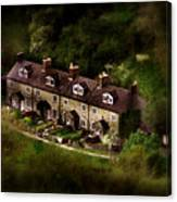 Country House In Bakewell Town Peak District - England Canvas Print
