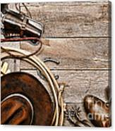 Cowboy Gear Canvas Print