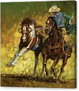 Rodeo Pickup Canvas Print