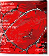 Crown Of Love Canvas Print