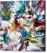 Crystal Layers Canvas Print