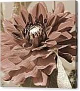 Dahlia Named Caproz Jerry Garcia Canvas Print