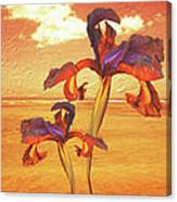 Dancing In The Sunset Canvas Print