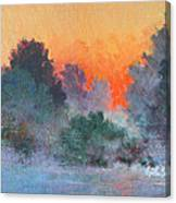 Dawn Mist Canvas Print