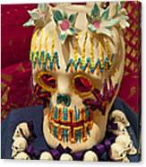 Day Of The Dead Remembrance, Mexico Canvas Print
