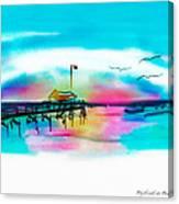 Daybreak At Pawleys Island Canvas Print