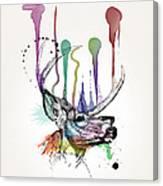 Deer Canvas Print
