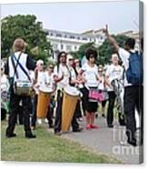 Dende Nation Samba Drum Troupe Canvas Print