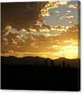 Denver Sunset  I Canvas Print