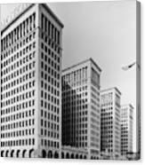 Detroit General Motors Canvas Print