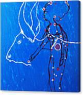 Dinka Livelihood - South Sudan Canvas Print