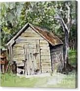 Done Farmin' Canvas Print