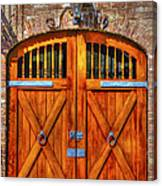 Doors Of Charleston Canvas Print