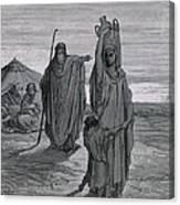 Dore, Paul Gustave 1832-1883. La Sainte Canvas Print