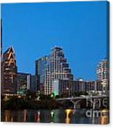 Downtown Austin Skyline Canvas Print