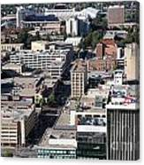 Downtown Lincoln Canvas Print