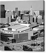 Downtown Skyline Of St. Paul Minnesota Canvas Print