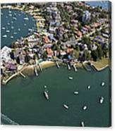 Drummoyne Bay, Sydney Canvas Print