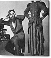Du Maurier: Trilby, 1895 Canvas Print