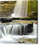 Eagle Cliff Falls Canvas Print