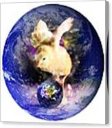 Earth Chick Canvas Print