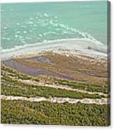 East Coast Aerial Near Jekyll Island Canvas Print